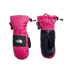 North Face Youth Montana Gore-Tex Mitts - Mr. Pink