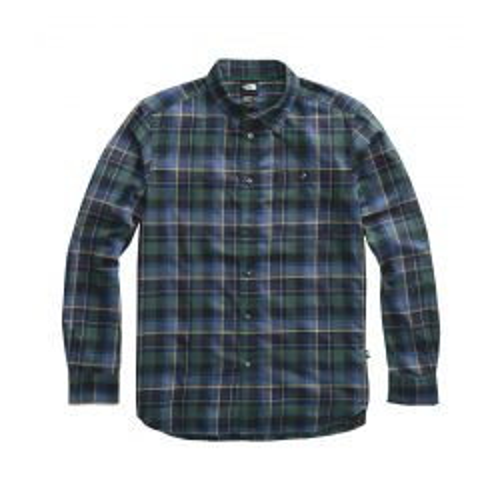 Men's Long Sleeve Hayden Pass 2.0 Shirt - Night Green Roogan Plaid