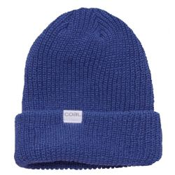 The Stanley Soft Knit Cuff Beanie-Blue