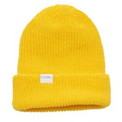 The Stanley Soft Knit Cuff Beanie-Yellow