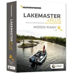 Lakemaster Plus Digital Chart - Woods/Rainy