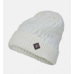 Spyder Women's Cable Knit Hat - White