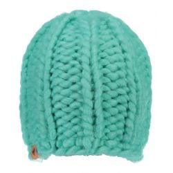 Girls Boston Cable Knit Beanie - Out To Sea