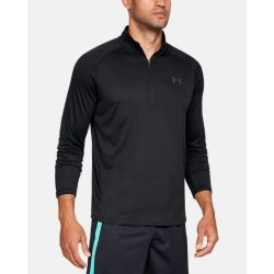 Under Armour Men's Ua Tech 2.0 1/2 Zip - Black/Charcoal