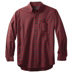 Airloom Merino Sir Pendelton Shirt (Tall) - Ruthven Red Tartan