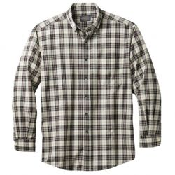 Airloom Merino Sir Pendelton Shirt (Tall) - Macrae Cream Tartan