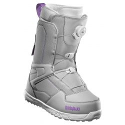 Thirtytwo Women's Shifty BOA Snowboard Boot Grey/Purple - 2020