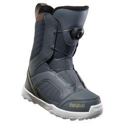 Kids Boa Snowboard Boot Grey/Brown - 2020