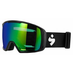 Sweet Protection Clockwork World Cup Goggle - Matte Black/RIG Emerald/Clear