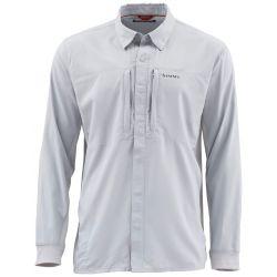 Simms Men's Intruder BiComp Fishing Shirt - Sterling