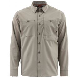 Simms Men's Double Haul Fishing Shirt - Rock Ridge