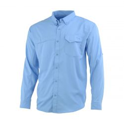 Men's Tide Point Long Sleeve Shirt - Carolina Blue