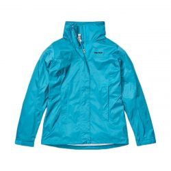 Marmot Women's PreCip Eco Jacket - Enamel Blue