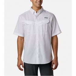 Columbia Low Drag Offshore Short Sleeve Shirt - White