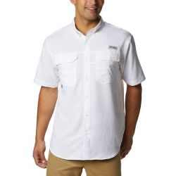 Columbia Blood And Guts III Short Sleeve Shirt -  White