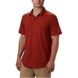 Columbia Silver Ridge Lite Short Sleeve Shirt - Carnelian Red