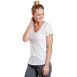Toad + Co Women's Marley Ii Ss Tee - White