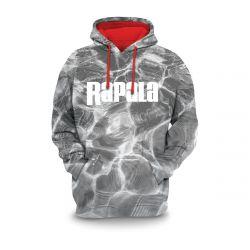 Rapala Men's Rapala Hooded Sweatshirt - Grey Glare