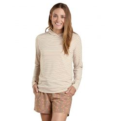 Women's Debug Swifty Hoodie - Oatmeal Heather Swift Stripe