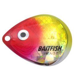 Northland Baitfish-Image Colorado Blades #3 - Clown