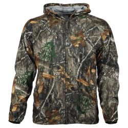 Men's ElimiTick Insect Repellent Cover Up Jacket Extended Sizes - Realtree Edge