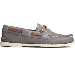 Men's Authentic Original Whisper Boat Shoe - Gray