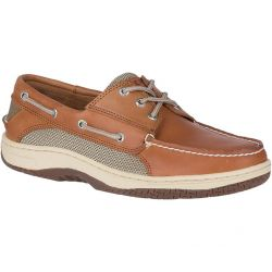 Men's Billfish 3-Eye Boat Shoe - Dark Tan