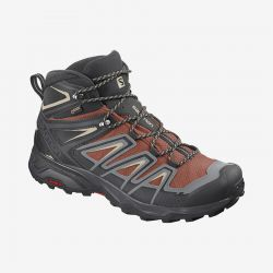 Men's X Ultra 3 Mid GTX Hiker - Brick/Black/Sand