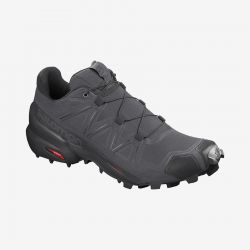 Men's Speedcross 5 Trail Runner - Magnet/Blk/Phantom