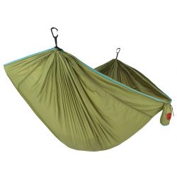 TRUNKTECH Double Hammock - Green/Aqua
