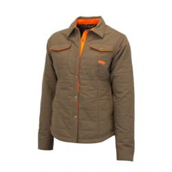 Girlswithg Woman's Highland Upland Shacket - Brown