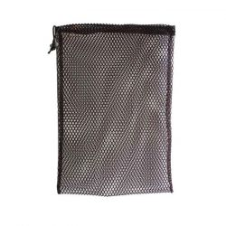 "Nylon Mesh Stuff Bag 7"" x 10"" - Black"
