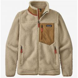 Patagonia Women's Classic Retro-X Jacket - Natural/Nest Brown