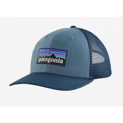 P-6 Logo Trucker Hat - Pigeon Blue