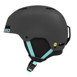 Ledge FS Mips Helmet - Matte Charcoal/Cool Breeze MD