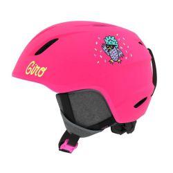 Giro Launch Mips Jr Helmet - Matte Bright Pink/Disco Birds