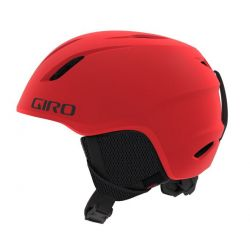 Launch Mips Jr Helmet - Matte Bright Red SM