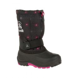 Kamik Kid's Rocket2 Winter Boot - Black Pink