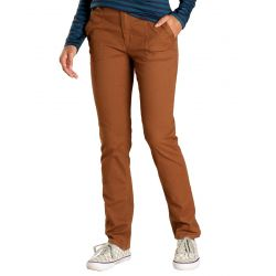 Toad + Co Womens' Earthworks Pant - Brown Sugar