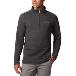 Columbia Great Hart Mountain Half Zip - Black Heather