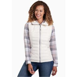 Kuhl Women's Spyfire Hooded Vest - Alpine White
