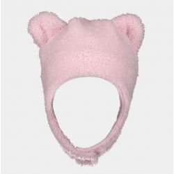 Obermeyer Kids Ted Fur Hat - Puff Pink