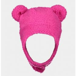Obermeyer Kids Ted Fur Hat - Pink Power