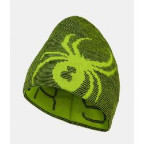 Boys Reversible Bug Hat - Sharp Lime