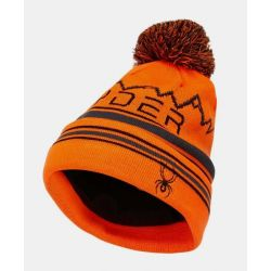 Boys Mini Icebox Pom Hat - Bryte Orange