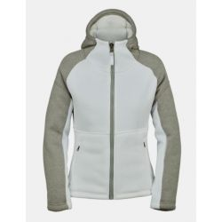 Spyder Women's Alps Full Zip Fleece Jacket - White