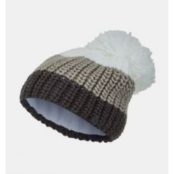 Spyder Women's Twisty Pom Hat - White