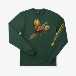 L/s Outfitter Graphic T-shirt - Dark Moss