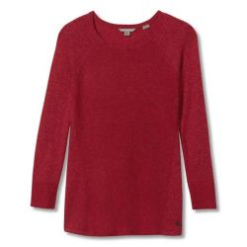 Royal Robbins Women's Highlands Pullover - Cardinal