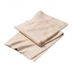Smartwool Powder Pass Scarf - Camel-Winter White Marl